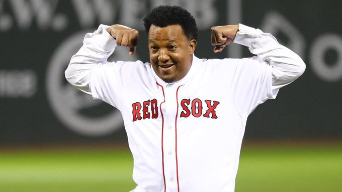 The Red Sox wished Pedro Martinez a happy 48th birthday Friday afternoon.
