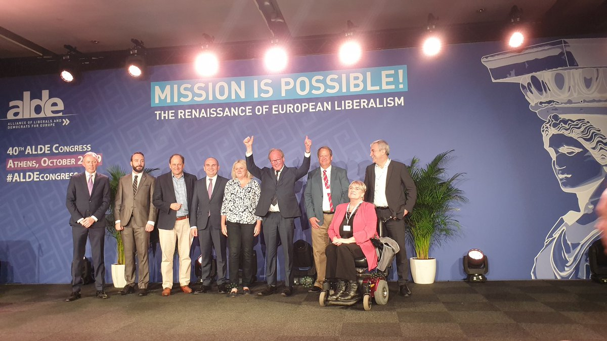 Thank you dear #Liberal friends for the confidence in me. #ALDEcongress