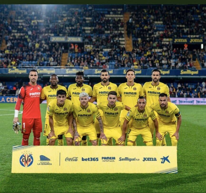 Gran partido de todo el equipo +3,gracias afición x el apoyo 👏👏 @VillarrealCF #endavant💛