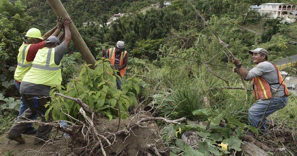 Puerto Rico to spend $20 billion to modernize power grid hit by Hurricane Maria