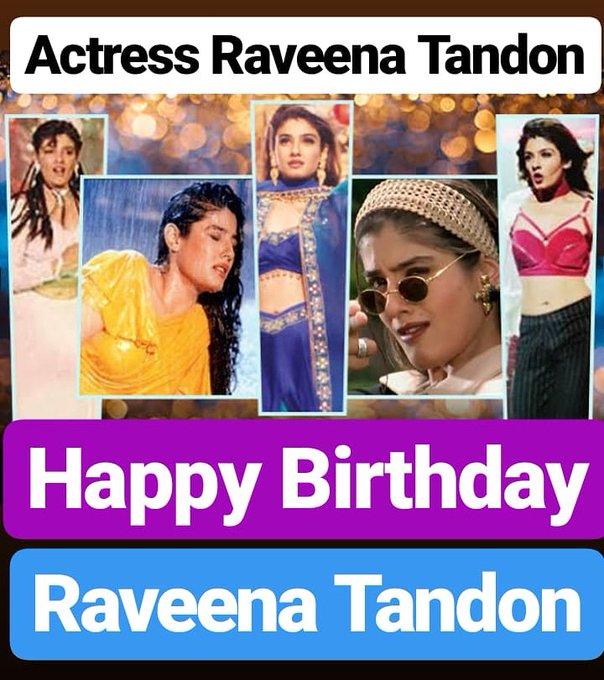 Happy Birthday  Raveena Tandon