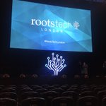 Image for the Tweet beginning: At Rootstech London to see