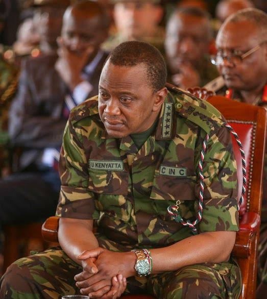 Happy 58th Birthday to the C in C Uhuru Kenyatta.