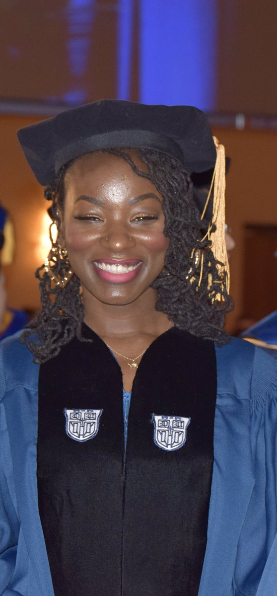 Dr. Tesia Stephenson attended @UMBC where she became a #McNairScholar and Meyerhoff Scholar. She graduated magna cum laude with a B.S. in Biochemistry & Molecular Biology then matriculated to @DukeU as a Duke Endowment Fellow and #NSF Graduate Research Fellow.