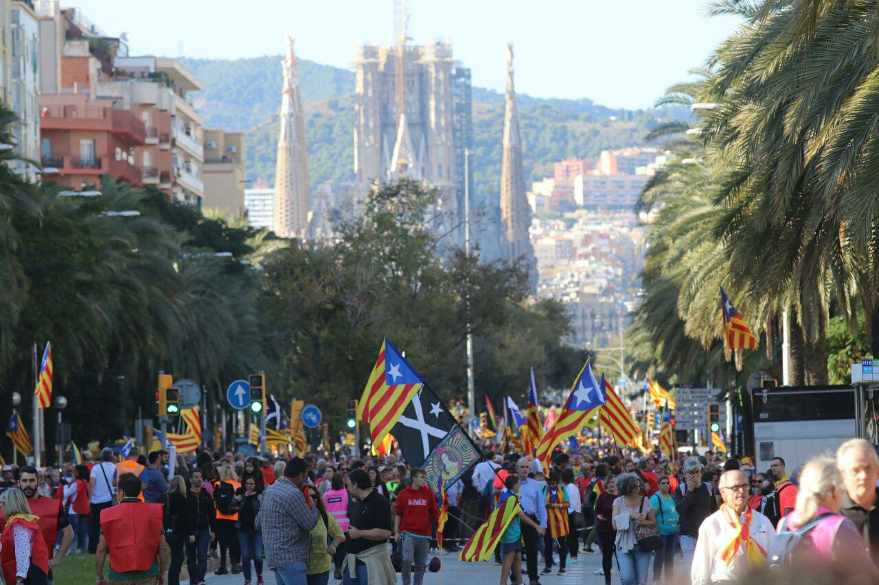 barcelone manifestation