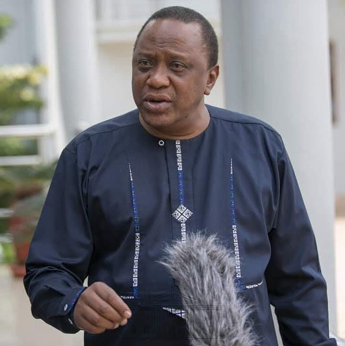 Happy birthday to the C-in-C H.E President Uhuru Kenyatta