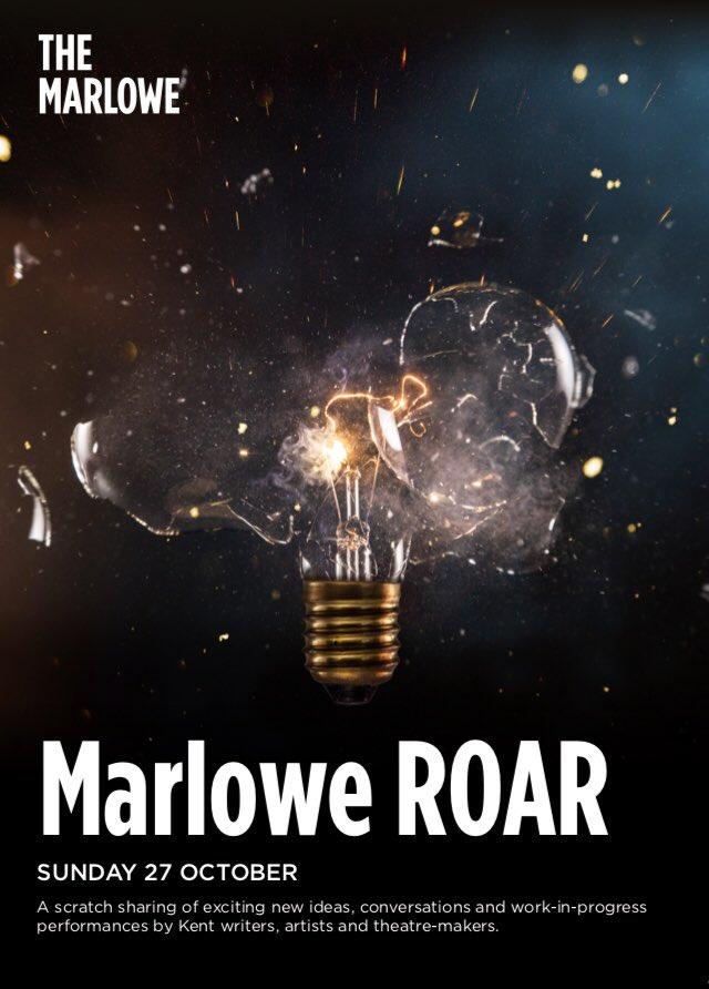 Marlowe Roar showcase poster