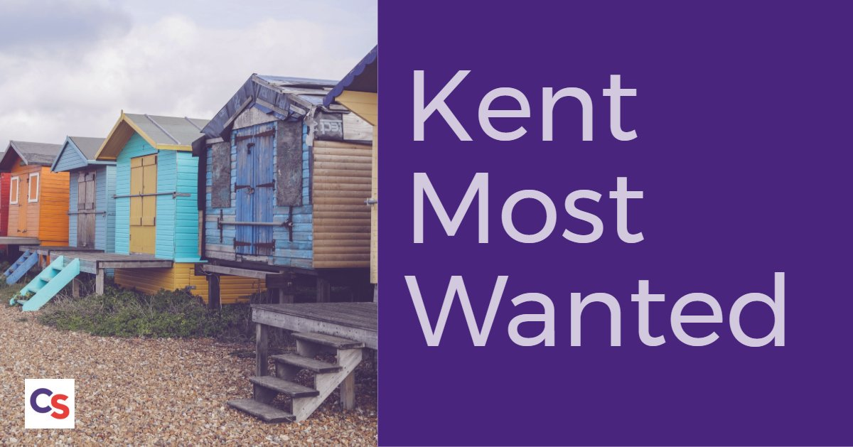 Our Kent Most Wanted campaign continues to display the faces of 12 wanted individuals on digital screens at retail locations in #Dartford. Theyre wanted for a variety of offences. Details here bit.ly/2JNApY3. #Kent #CrimePrevention