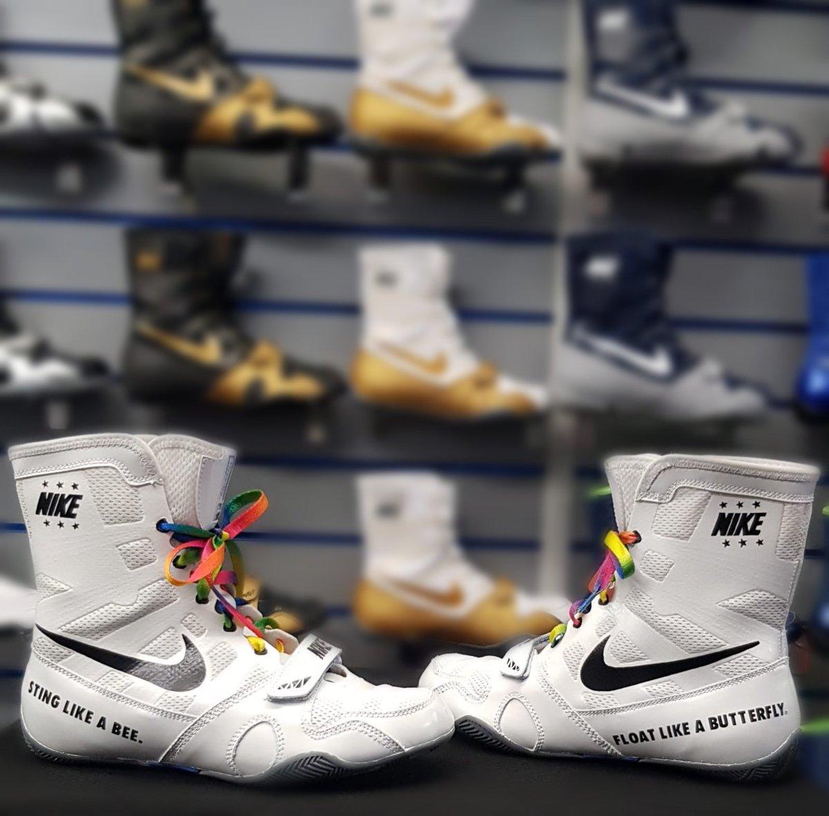 custom nike boxing shoes