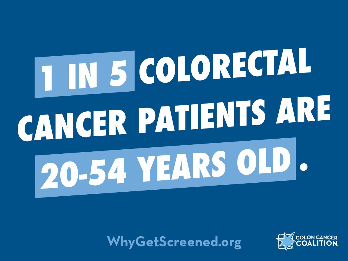 Colon Cancer Coalition On Twitter Early Age Onset Colon And Rectal Cancer Is On The Rise Talk To Your Family About Their Health History Know The Symptoms And Talk To Your Doctor