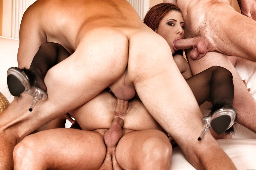 Silvias double penetration threesome featuring silvia dellai and charlie dean and bo sinn