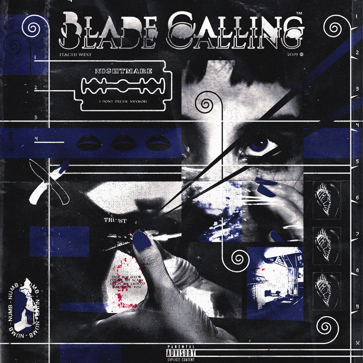 « Blade Calling » the NEW ALBUM releasing, on all streaming services 11/29. I been real fucked up y'all. Let's be fucked up together <br>http://pic.twitter.com/HyZSZk3nKl