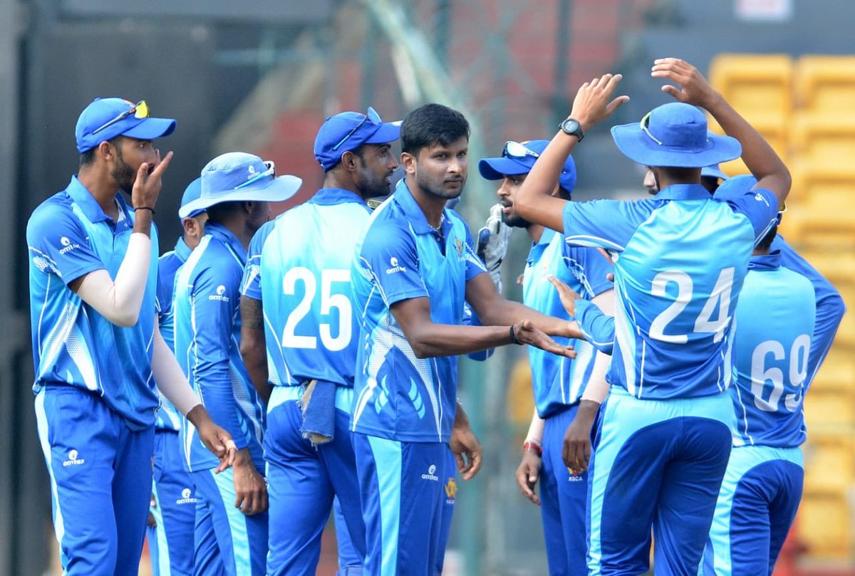 If u want to be strong learn how to fight alone #vijayhazaretrophy #RiseAndGrind