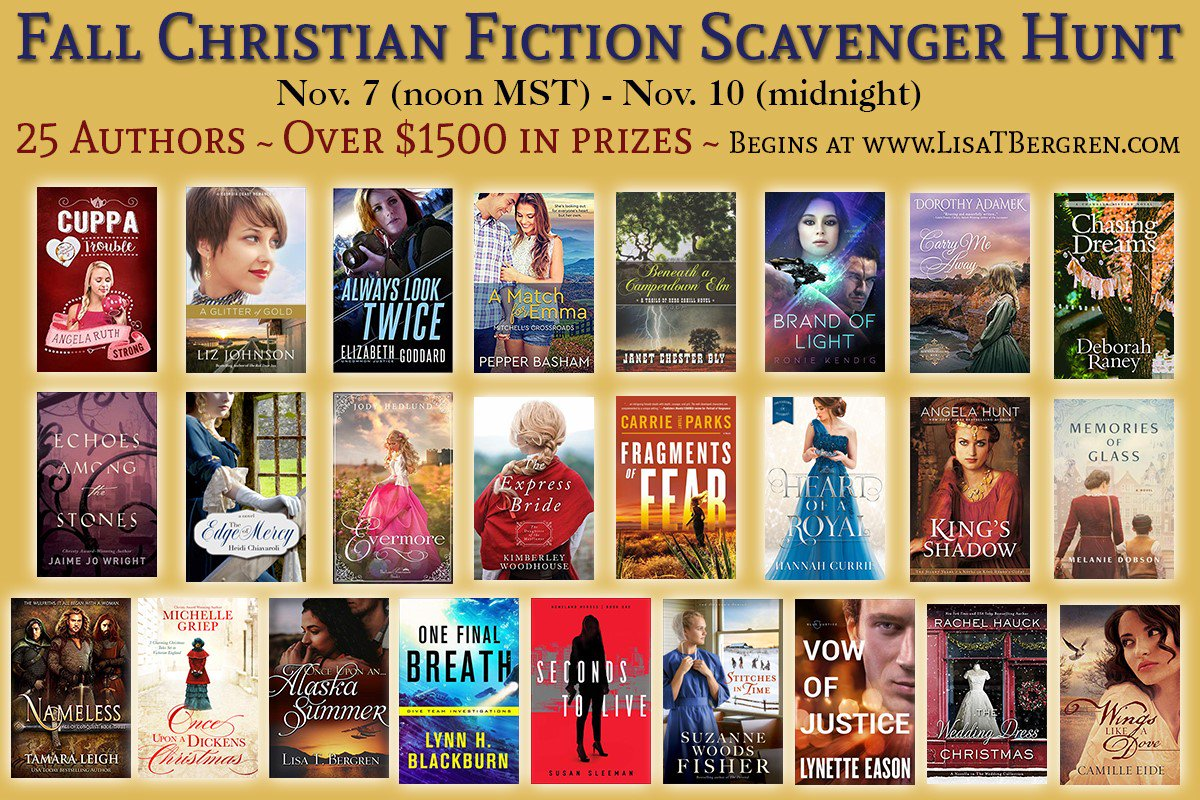 test Twitter Media - Today's your last chance to enter the #ChrFicScavHunt! Learn about 25 authors & their new releases! And enter for your chance to win some of more than $1500 in prizes! Complete the hunt by midnight tonight!  https://t.co/HAmoOupEr1 https://t.co/msVbMpR5Gx