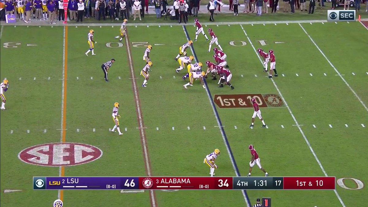 Joe Burrow and LSU stave off Alabama in an offensive, streak-busting showcase