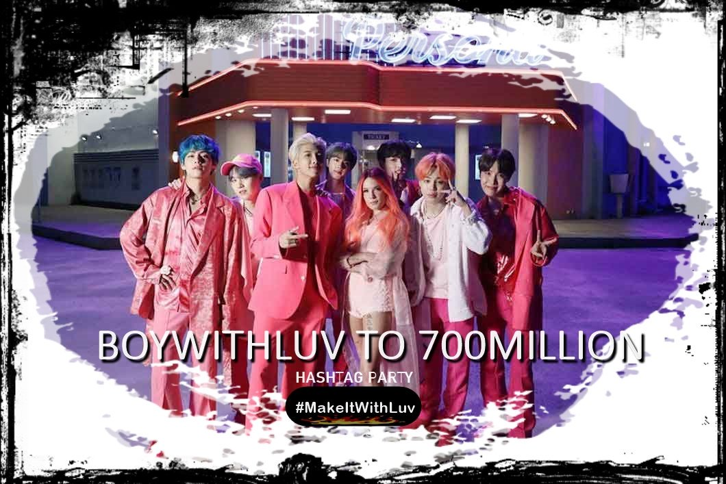Bangwool all over the world are we ready to #BoyWithLuv to 700M views?   Reply with a screenshoot if you're streaming + country   #MakeItWithLuv   YouTube:  https://www. youtube.com/playlist?list= PLzBTYhDXUNQfUOM4ACxZkKS6h0GAjOKSD  …  Apple Music:  https:// music.apple.com/cl/album/make- it-right-feat-lauv-acoustic-remix-single/1486431698  …  Spotify:   https:// open.spotify.com/playlist/5zRJ0 bvlL6cbEVYqrUdDDv  … <br>http://pic.twitter.com/TQL0BLPxxB