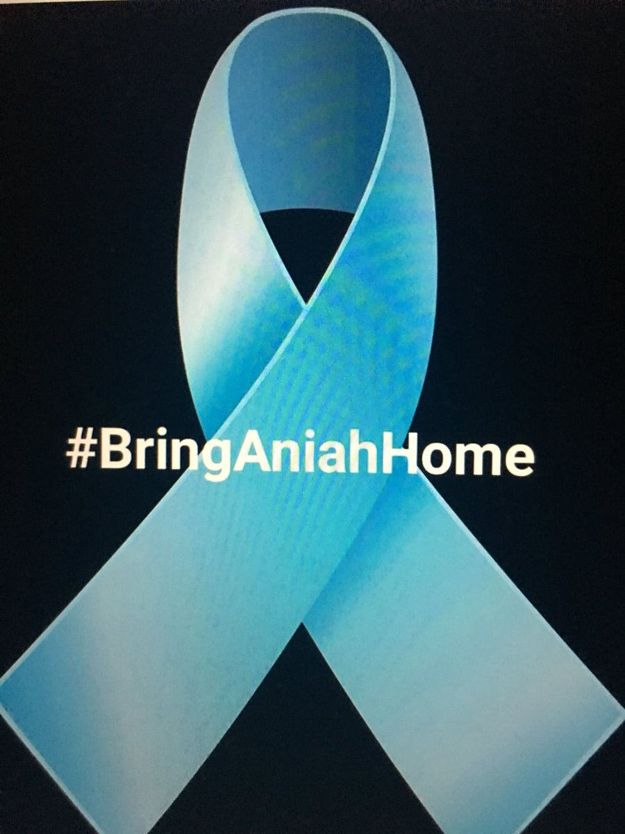 #BringAniahHome #saturdaynight https://t.co/MrlvzvZHFA