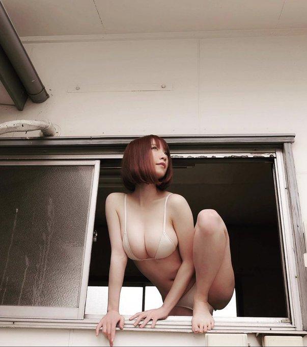 グラビアアイドル清水あいりのTwitter自撮りエロ画像7