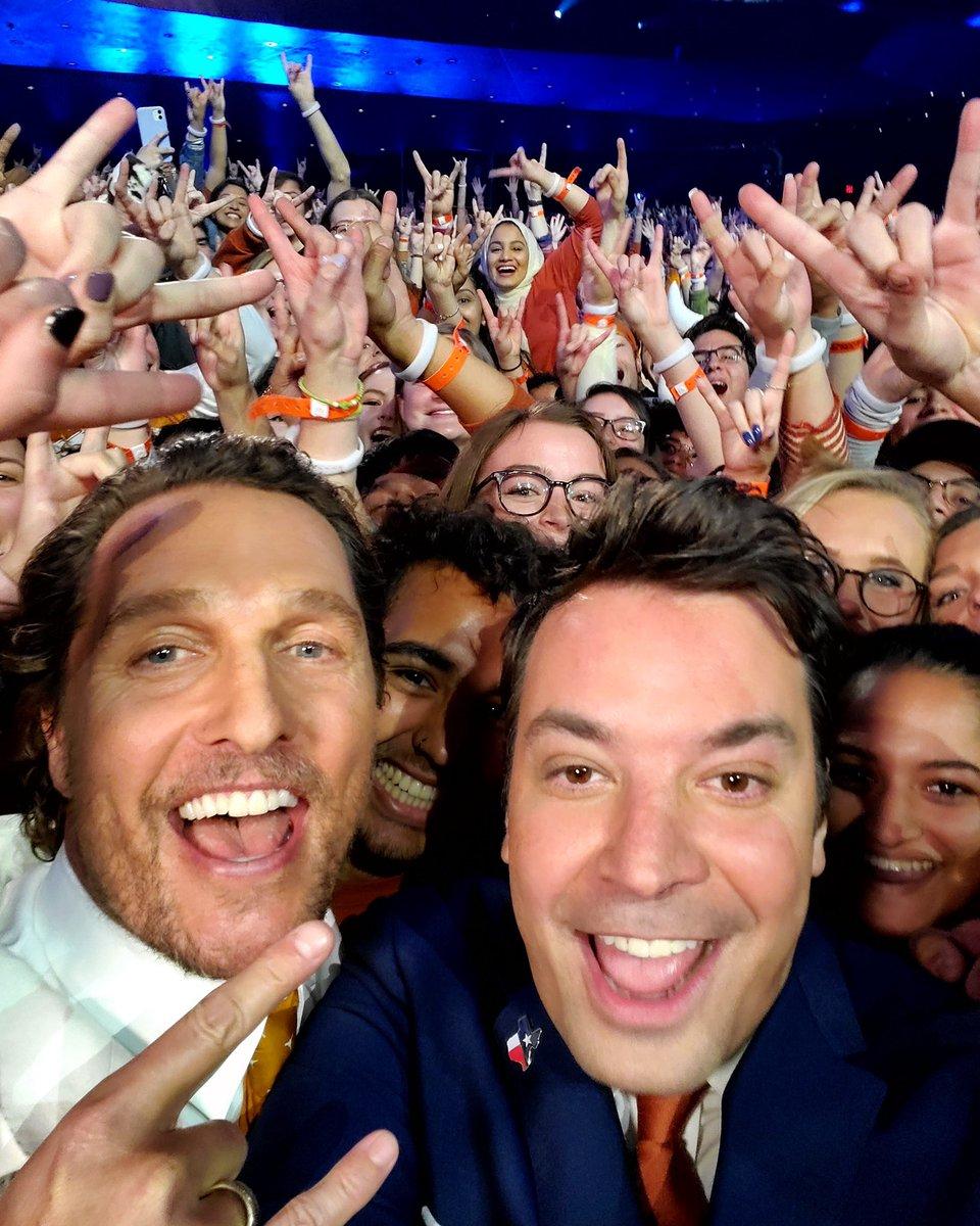 @McConaughey's photo on #FallonAtUT