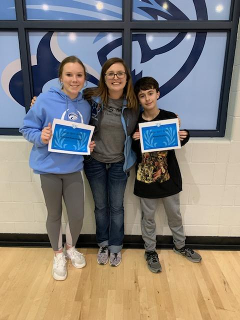 Congratulations to our Cougar Spirit Winners!! Keep up the awesomeness! #ourWHY
