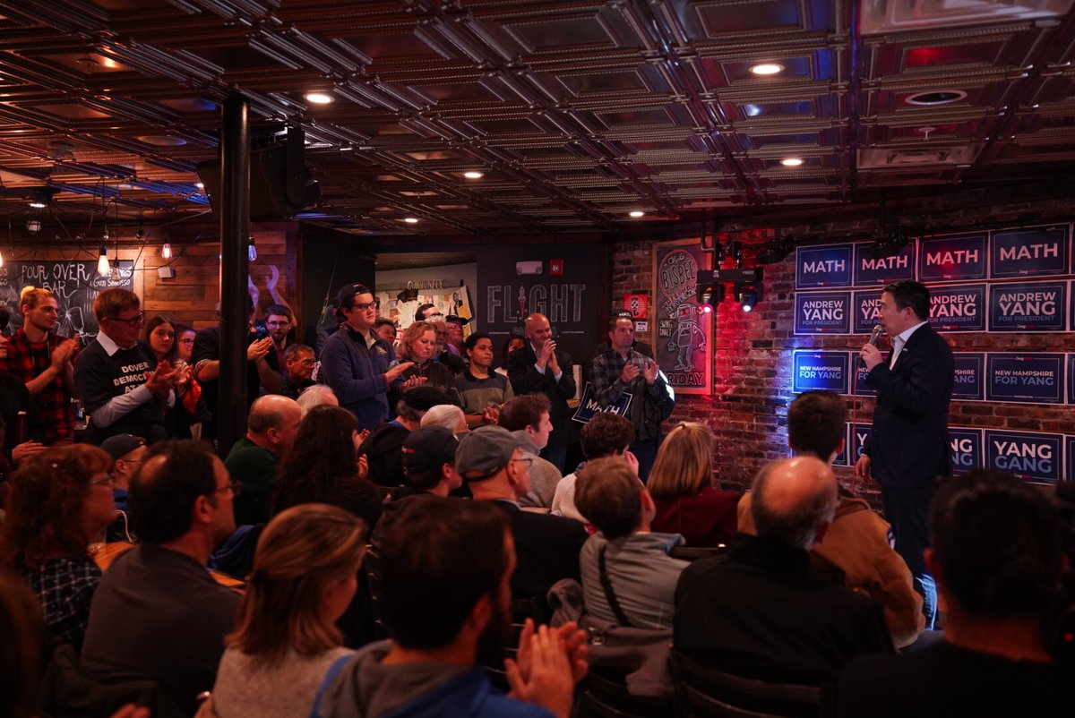 Great event in Dover New Hampshire tonight. 👍😀🇺🇸