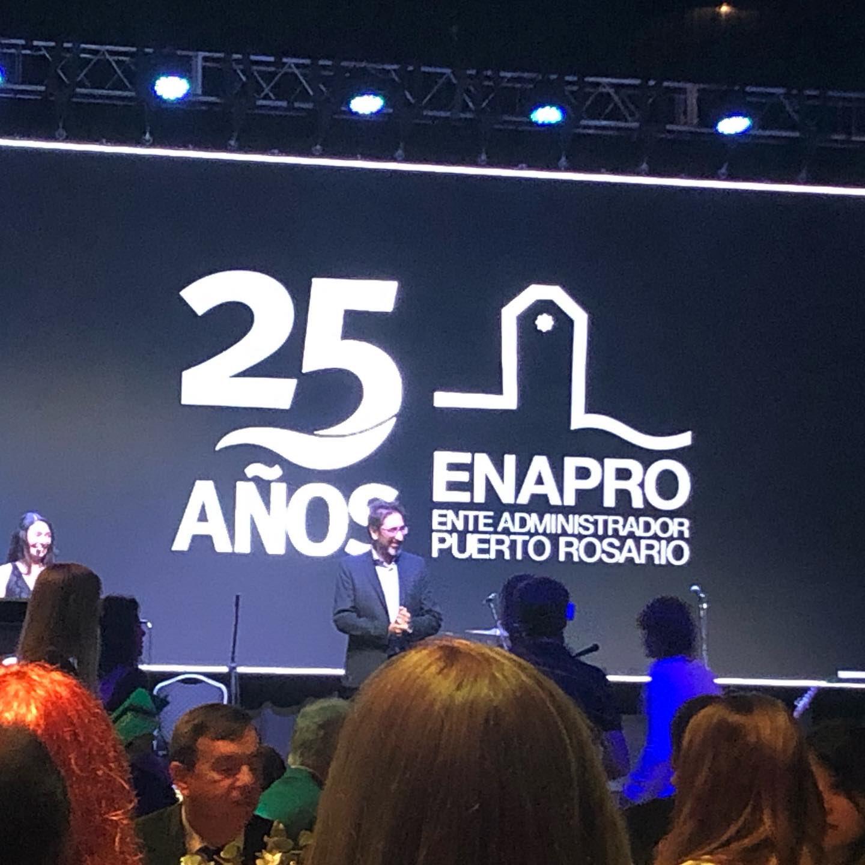 El Ente Administrador Puerto Rosario festejó sus 25 años