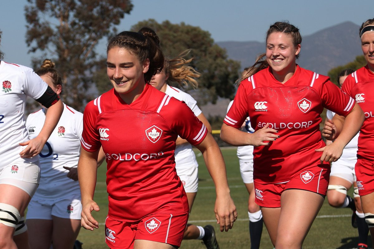 Excited for another go at @USARugby?? You could say so... 😏😈 Less than 2⃣ weeks until Canada takes on the Womens Eagles in the first match of our Can-Am series!🏉🍁 #RugbyCA 🗓️ Nov 20 & 24th ⏱️ 6pm ET/ 3pm PT 💻 @FloRugby
