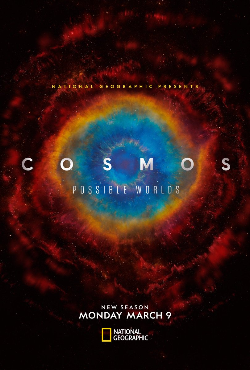 Finally, we can announce the new season! Cosmos: Possible Worlds - New Season premieres March 9 on @NatGeoChannel https://t.co/KKnrYnxdla
