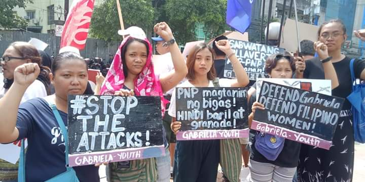 'The courage of Gabriela Silang lives in every Filipino woman', Joy from GABRIELA Manila and Concerned Mothers' League.  #DefendFilipinoWomen #DefendGabriela #StopTheAttacks #ResistCrackdown   https://www.facebook.com/104814469597088/posts/2485954378149740/…pic.twitter.com/NNYDnH5WsY