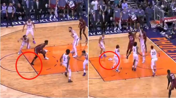 【影片】眼里只有籃筐,鞋子掉了也沒關係,Butler單腳穿鞋照樣打成2+1!