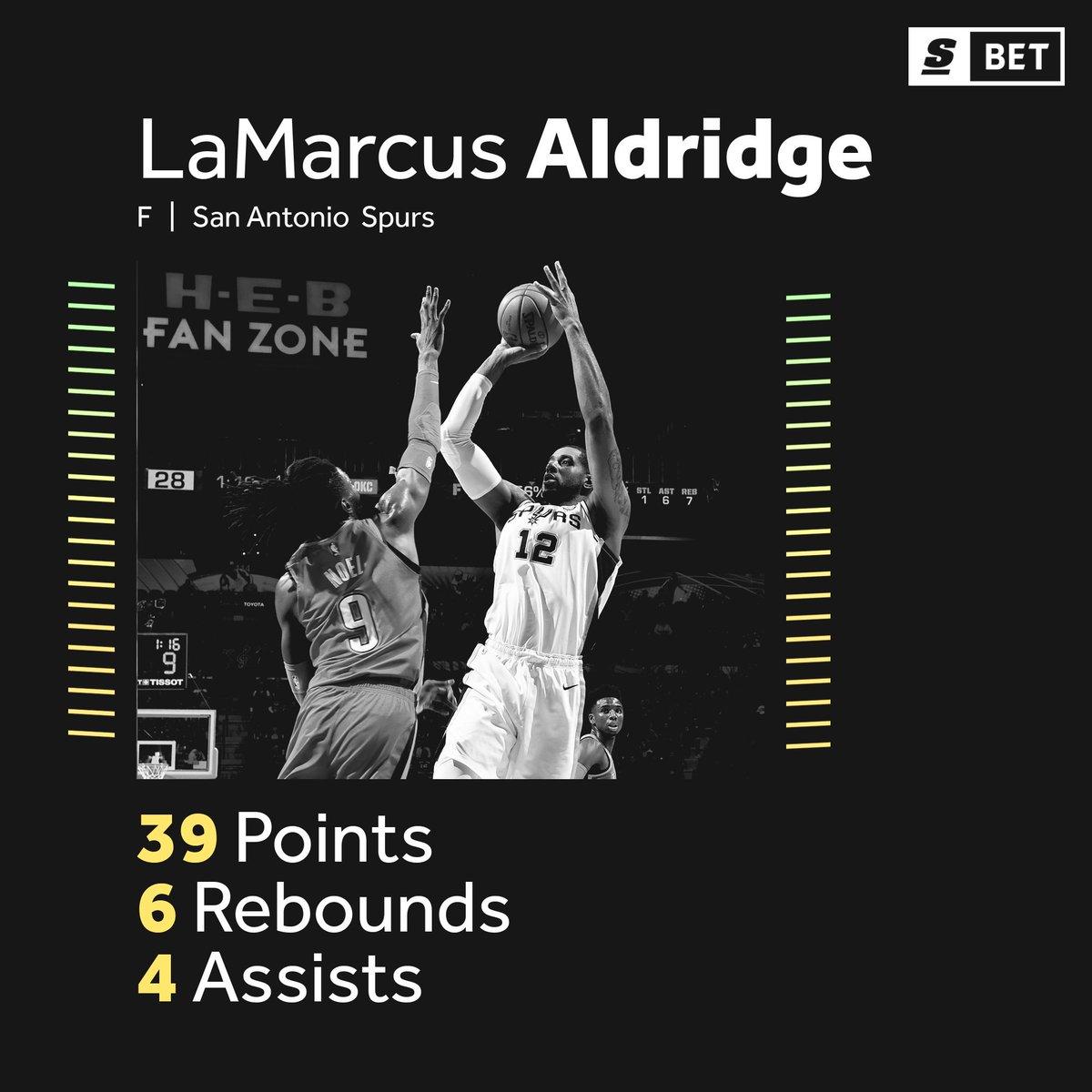 @theScore's photo on LaMarcus Aldridge
