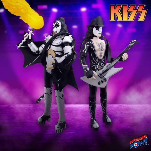 It's NOT the End of the Road for new KISS action figures. All-new Exclusive Destroyer Demon with Fire and Firehouse Starchild action figures are here! #KISSArmy eearth.us/?l=rq7fb