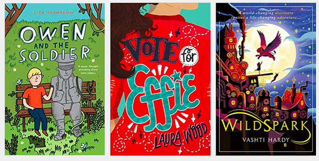 The shortlists for the Blue Peter Book Awards, run by @Booktrust, have been revealed: bit.ly/2WYMCPW