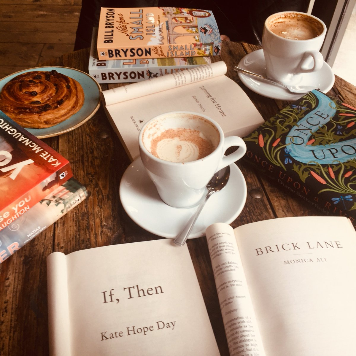 Happy #NationalCappuccinoDay! We like our coffee served with chocolate sprinkles and a REALLY good book. What are you reading with yours this morning? ☕️📚