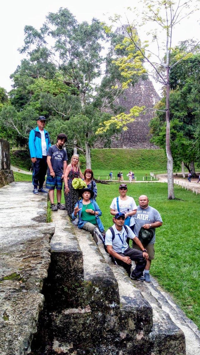 Exploring the Mayan Pyramids of #Tikal #Guatemala Live the experience of touring this amazing place with us #visitguatemala #visitcentroamerica @CultureTrip @USTOA @ASTAadvisors @TravelAgeWest @LatAmTravelist @latauk @grayline