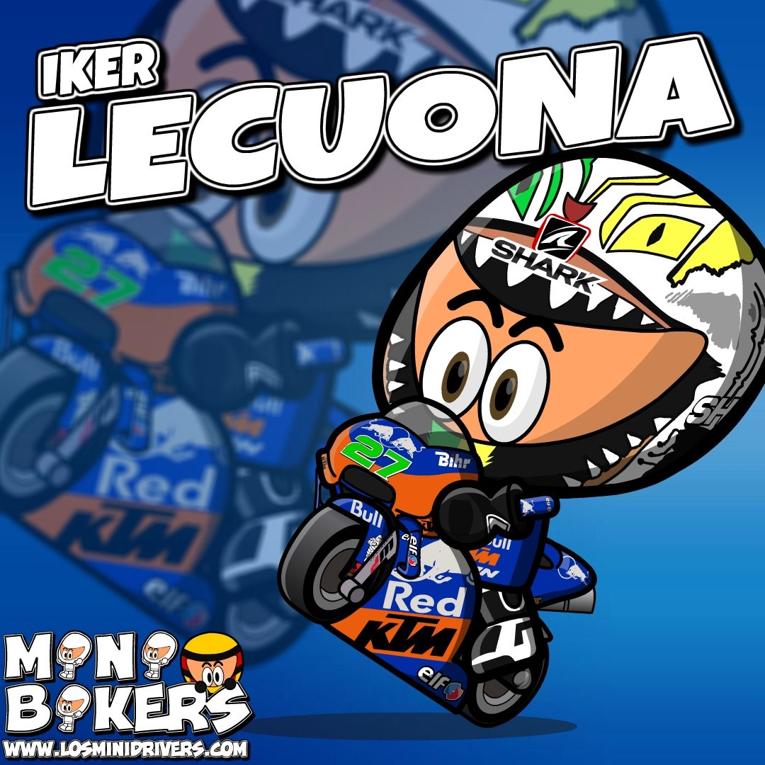 MiniBikers - #MotoGP - @Tech3Racing - @LecuonaIker 2019 MINI VERSION *PROVISIONAL HELMET