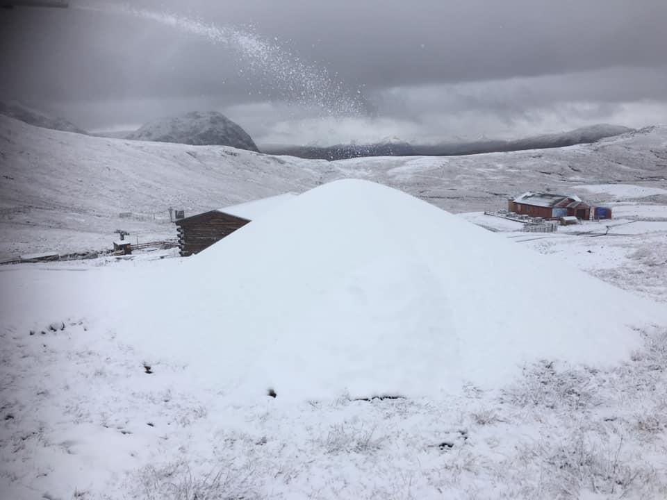 Snow-making has begun at Glencoe Mountain Resort