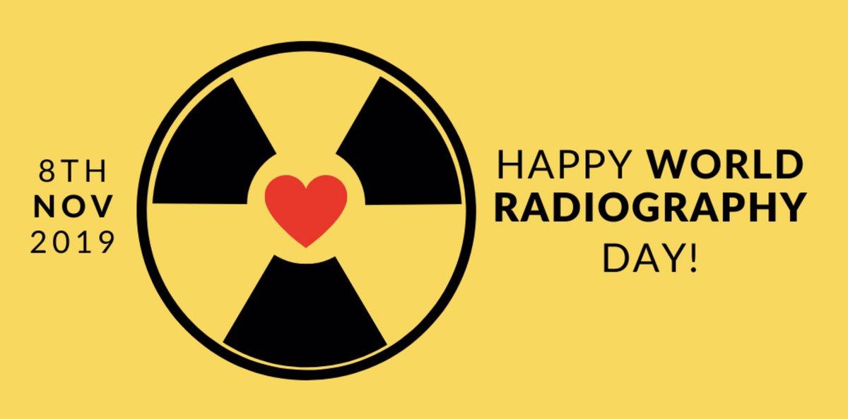 Radiographer friends! 😁 It's our day! 🥳 Whooooooooh! Go Us! 🏆 #WRD2019 #WorldRadiographyDay #ShareTheLove #RadLove ☢️❤️