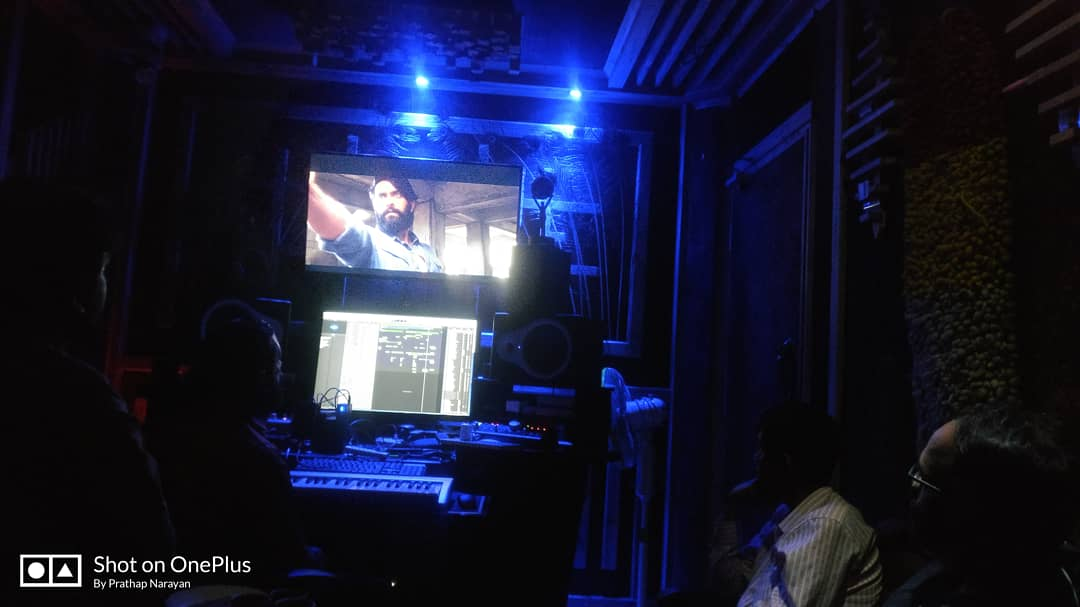 Re-recording is going on full swing.. . . . . #uthamaru #kannadacinema #kannadafilmindustry #kannadigaru  #sandalwood#Gandhadhagudi #actor #PrathapNarayan #sathya  #Ganeshnarayan #music  #musicdirector#musician #musically #MusicToTheSoul #cineworld #cinema #Gratitudepic.twitter.com/Qgd33LNRN7