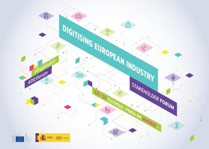 Madrid acoge #DigitisingEuropeanIndustryStakeholderForum principal evento de #TransformaciónDig...
