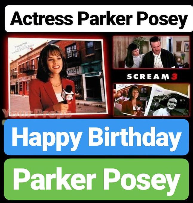 Happy Birthday Parker Posey