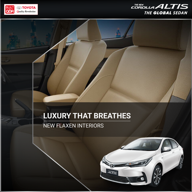 The #Toyota #CorollaAltis is geared to pamper you, the moment you step in.   Visit : https://t.co/TnBFElen8R for more.   #Toyota #CorollaAltis https://t.co/AQED2aPGEF
