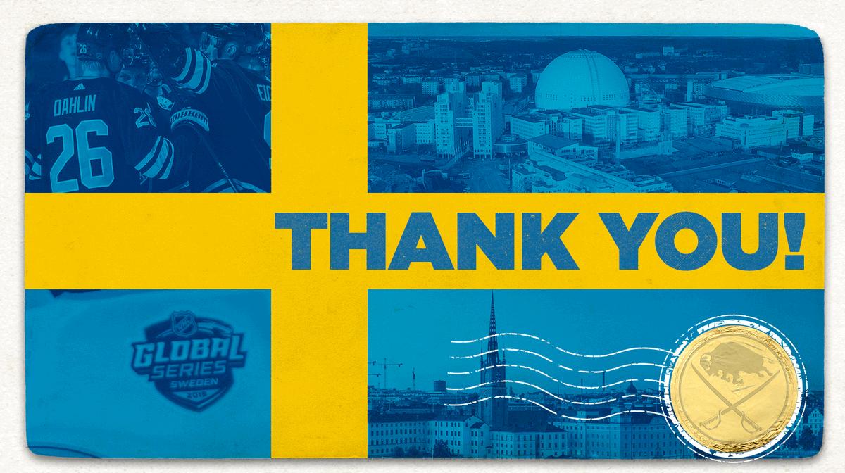 For an unforgettable week. 🙌 #NHLGlobalSeries