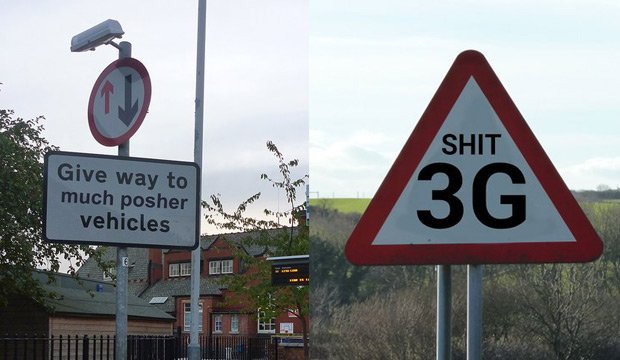 OTD in 1968, the Vienna Convention on Road Signs and Signals, so here are some useful new British signs. #Recap thepoke.co.uk/2016/02/01/bor…