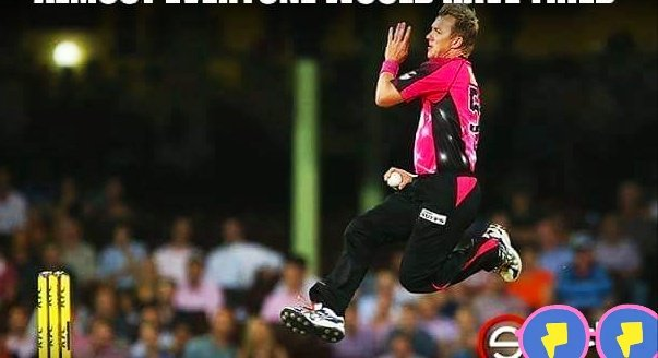 almost everyone would have tried his bowling action once their in life!