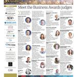 Image for the Tweet beginning: Meet the Business Awards judges