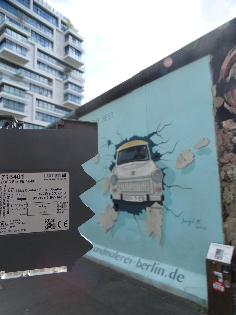 #BerlinWall30 30ans après la #chutedumur #9novembre  #LOCCBox en voyage à...