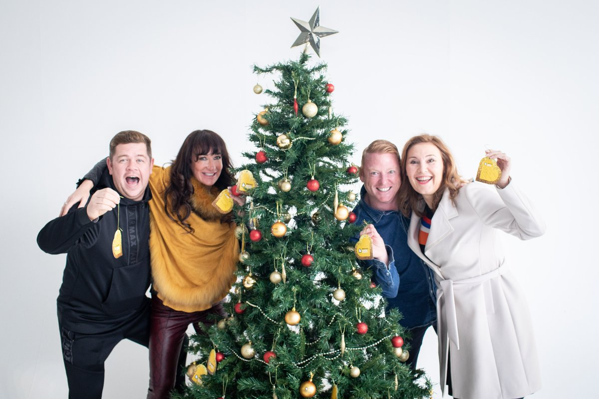 Today we're launching our annual Christmas #BeatsonBauble appeal with the support of a few familiar faces! 💛  Find out more...   @gradowrestling @ginaontheradio @mrgaryhollywood @McCarryJane