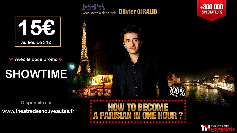 [#SHOW ] How to become a parisian in one hour ? by @parisianonehour  ➡️
