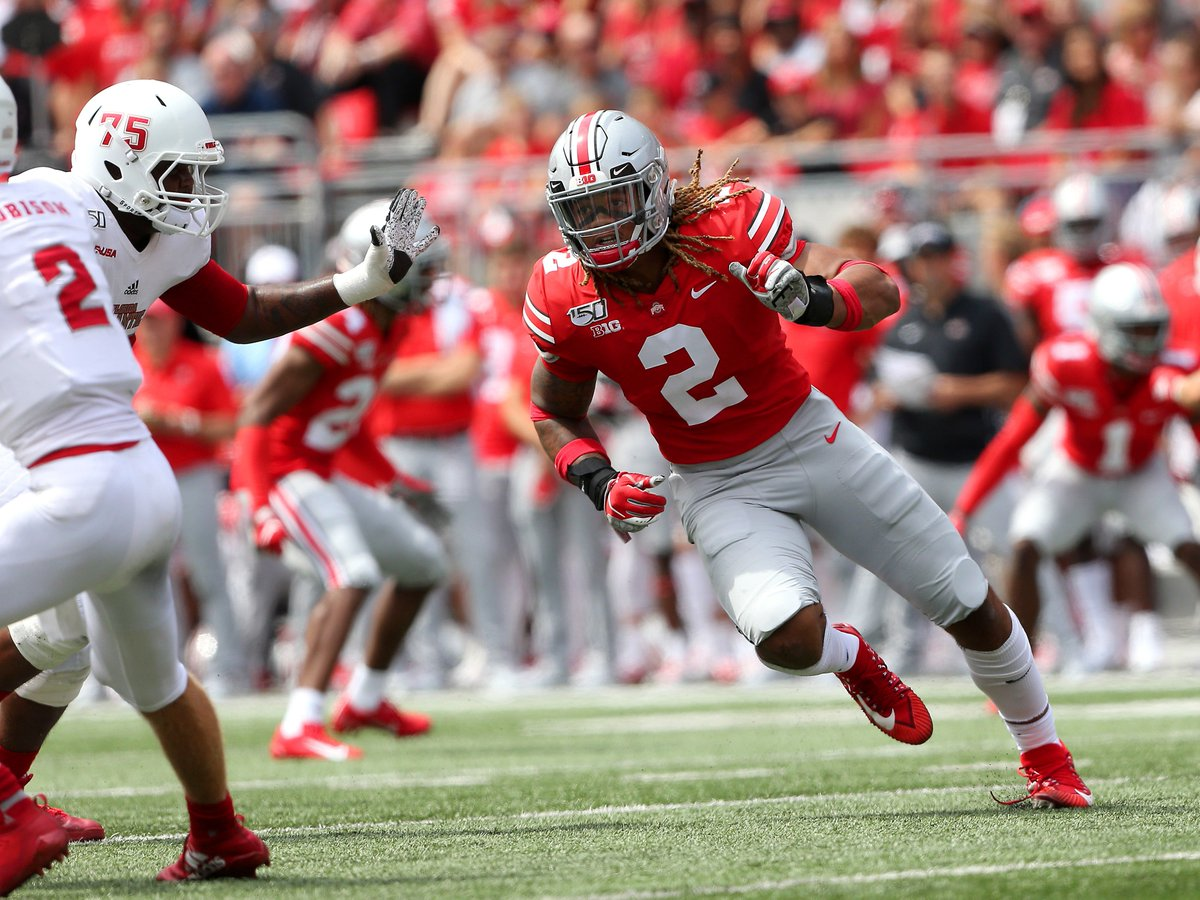 @Stadium's photo on ohio state de chase young
